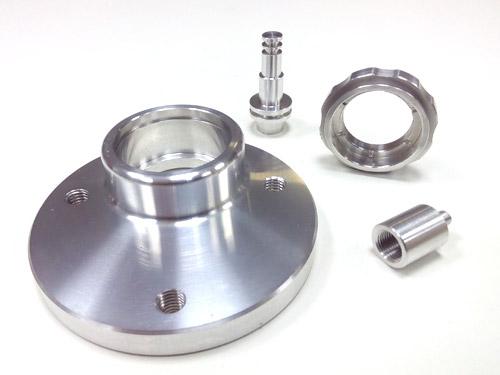 Piezas mecanizadas muestra